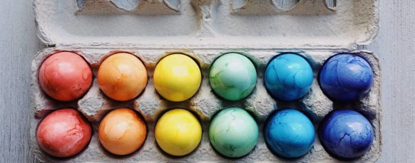 How to hide hard boiled eggs for easter
